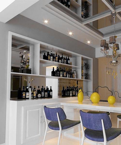现代简美酒柜