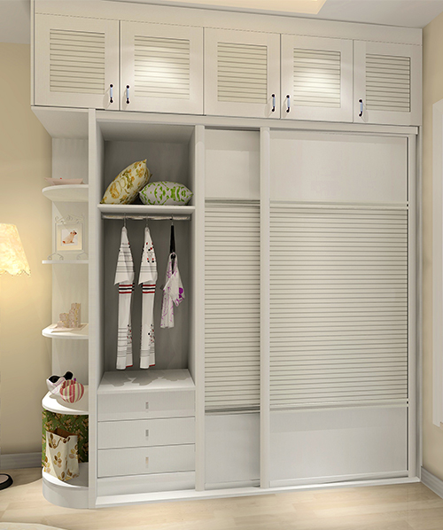 现代简美衣柜