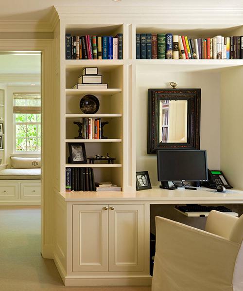 欧式实木书柜
